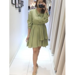 Pleated Stylish Dress