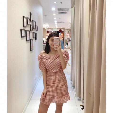 Checks Top + Skirt